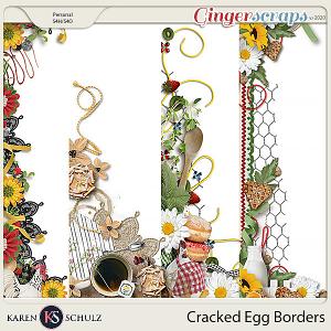 Cracked Egg Borders by Karen Schulz