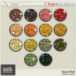 Bountifall Glitters by Aimee Harrison