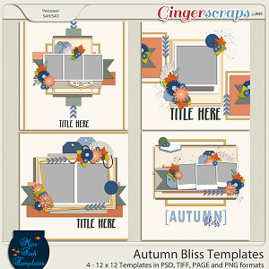 Autumn Bliss Templates by Miss Fish