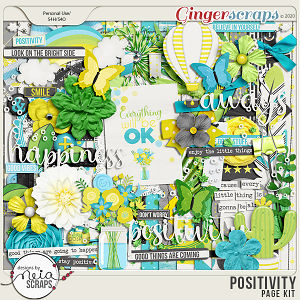 Positivity - Page Kit - by Neia Scraps