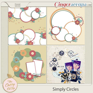 The Cherry On Top:  Simply Circles Templates
