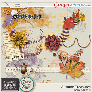 Autumn Treasures Artsy Accents by Chere Kaye Designs and Aimee Harrison