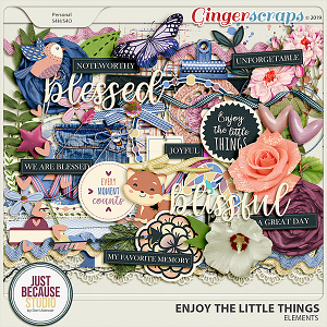 Enjoy The Little Things Elements by JB Studio