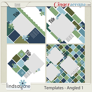 Templates - Angled 1 by Lindsay Jane