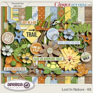 Lost In Nature - Kit by Aprilisa Designs