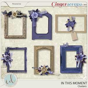 In This Moment Clusters by Ilonka's Designs