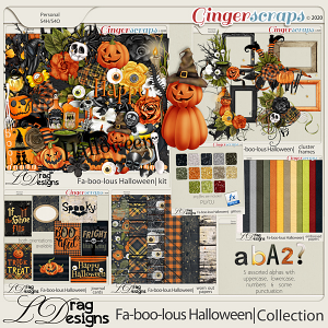 Fa-BOO-lous Halloween: The Collection by LDragDesigns