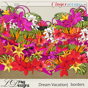 Dream Vacation: Borders by LDragDesigns