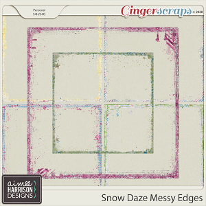 Snow Daze Messy Edges by Aimee Harrison