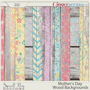 Mother's Day Wood Backgrounds
