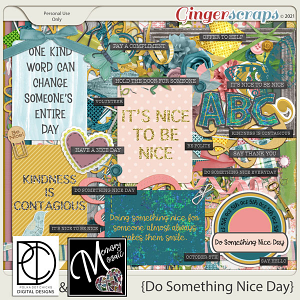 Do Something Nice Day by Memory Mosaic and Polka Dot Chicks