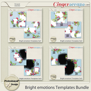 Bright emotions Templates Bundle