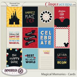 Magical Memories - Cards by Aprilisa Designs