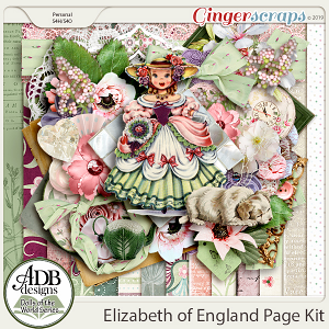 Elizabeth Page Kit {DOTW England} by ADB Designs