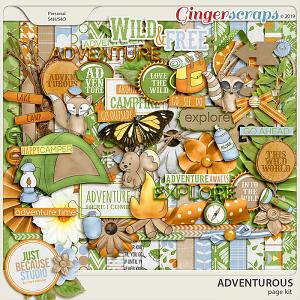 Adventurous Page Kit by JB Studio