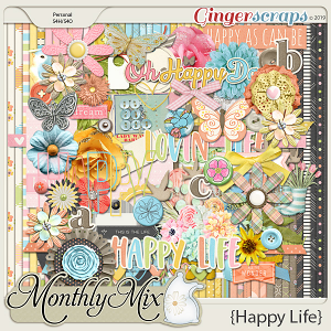 GingerBread Ladies Monthly Mix: Happy Life