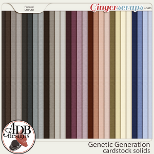 Genetic Generation Solid Papers by ADB Designs