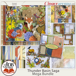 Thunder Basin Saga Bundle by ADB Designs