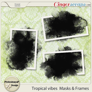 Tropical vibes Masks & Frames