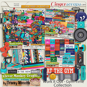 Work it Out - Gym Time Collection by Clever Monkey Graphics