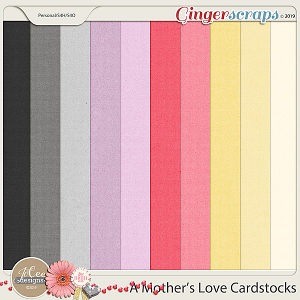 A Mother's Love Cardstocks by JoCee Designs