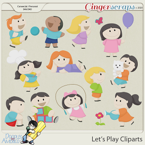 Doodles By Americo: Let's Play Cliparts