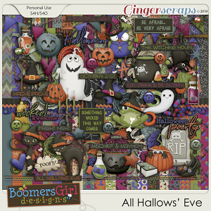 All Hallows' Eve by BoomersGirl Designs