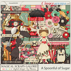 A Spoonful of Sugar (page kit)
