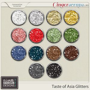 Taste of Asia Glitters by Aimee Harrison