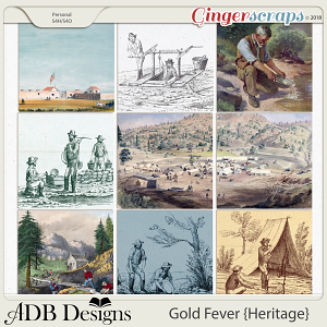 Gold Fever Heritage Scenic Papers