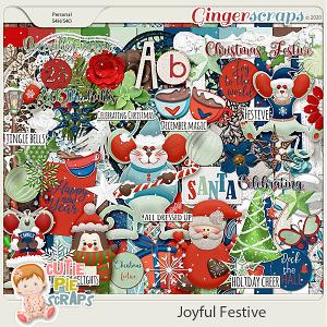 Joyful Festive Page Kit