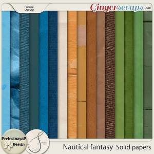 Nautical fantasy Solid papers