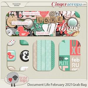 Document Life February 2021 Grab Bag by Luv Ewe Designs