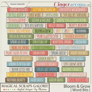 Bloom & Grow (word bits)