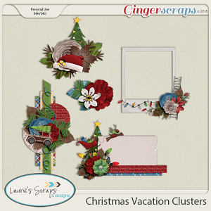 Christmas Vacation Clusters