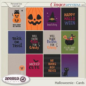 Halloweenie - Cards by Aprilisa Designs