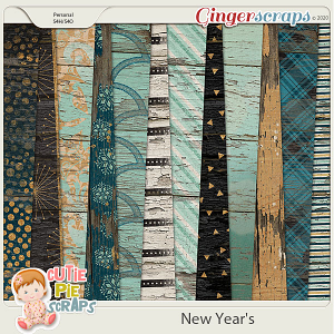 New Year's Wood Papers