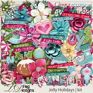 Jolly Holidays by LDragDesigns