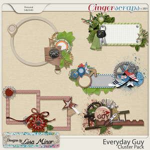 Everyday Guy Cluster Pack from Designs by Lisa Minor