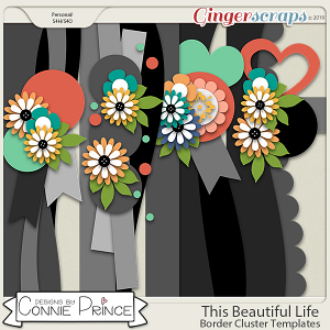 This Beautiful Life - Border Cluster Temps by Connie Prince
