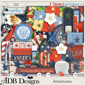 Americana Patriotic Elements