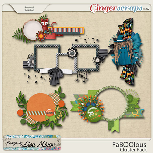 FaBoolous Cluster Pack from Designs by Lisa Minor