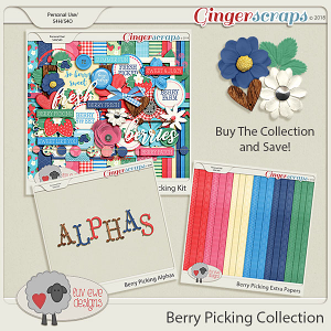 Berry Picking Collection by Luv Ewe Designs