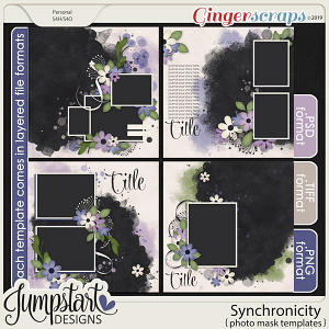 Synchronicity {Photo Mask Templates} by Jumpstart Designs