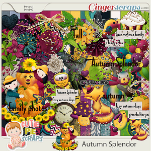 Autumn Splendor Page Kit