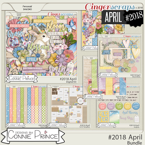 #2018 April - Bundle Collection by Connie Prince