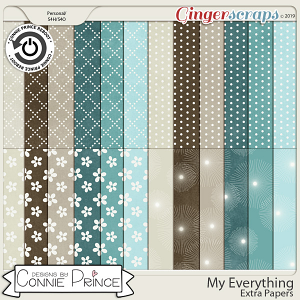 My Everything - Extra Papers by Connie Prince
