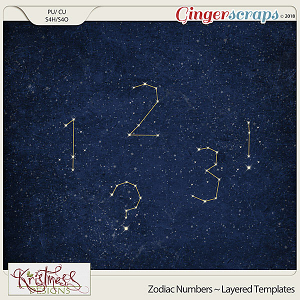 CU Zodiac Constellations Layered Alpha Temps (Numbers)