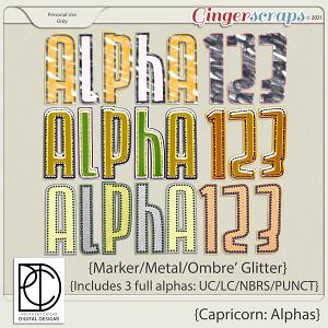 Capricorn: Alpha Set