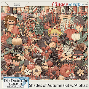 Shades of Autumn {Kit with Alphas} by Day Dreams 'n Designs